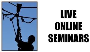Live online seminars logo